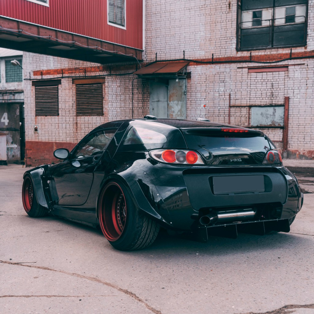 Smart Roadster Rear Diffuser - fancywide.ru - DIFFUSERS AND CAR ...