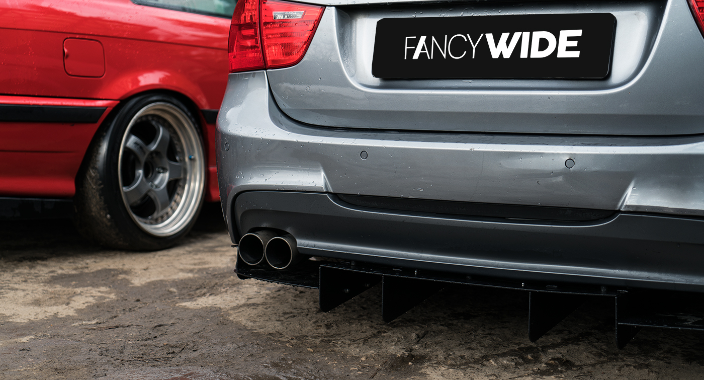 Bmw E90 E91 Rear Diffuser 420 187 Fancywide Ru